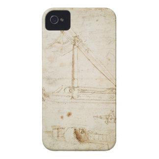 War machine (pencil on paper) Case-Mate iPhone 4 cases