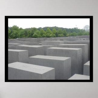 war memorial berlin poster
