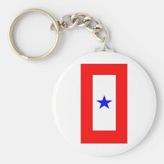 WAR MOTHERS FLAG 1 BASIC ROUND BUTTON KEY RING