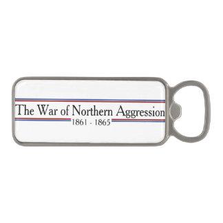 """""""War of Northern Aggression"""" Magnet Bottle Opener Magnetic Bottle Opener"""