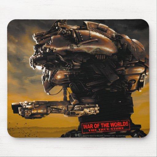 War Of The Worlds The True Story Mousepad horizntl