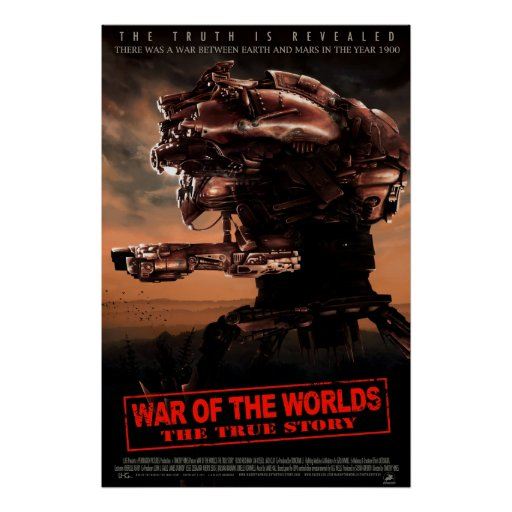 War Of The Worlds The True Story Movie Poster