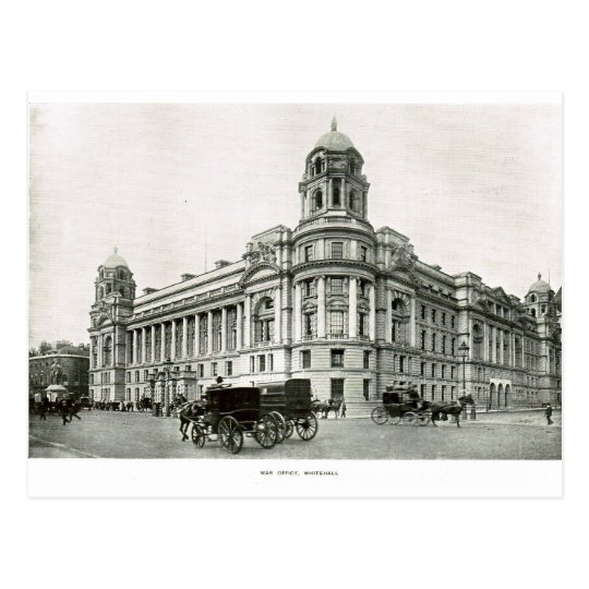 War Office, Whitehall 1900 Postcard