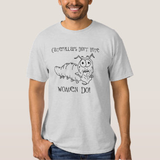 War On Caterpillars Tee Shirts