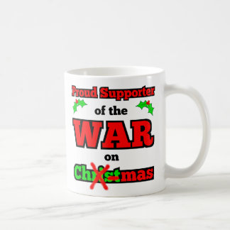 """War on Christmas"" Happy Holiday Mug"