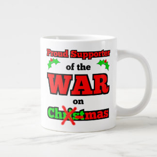 """War on Christmas"" Jumbo X-mas Mug"