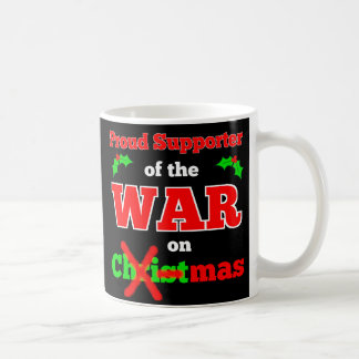 """War on Christmas"" X-Mas Mug (Black)"
