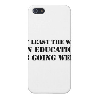 War On Education Case For iPhone 5
