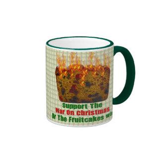 War On Fruitcakes Mugs