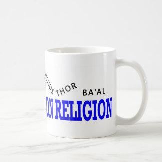 War on Religion Losers Basic White Mug