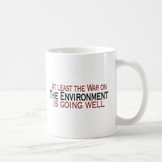War On The Environment Coffee Mug
