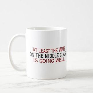 War On The Middle Class Coffee Mug