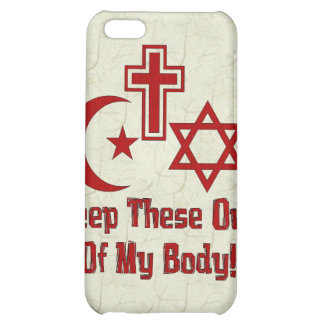 War On Women iPhone 5C Covers