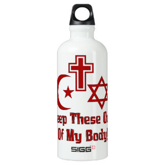 War On Women Water Bottle