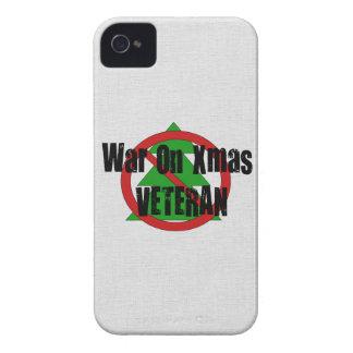 War on Xmas Veteran iPhone 4 Case