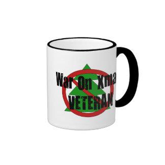 War On Xmas Veteran Coffee Mugs