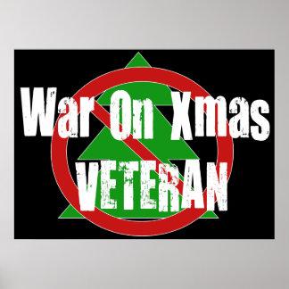 War On Xmas Veteran Poster