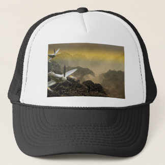 War planes trucker hat