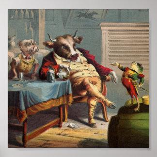 War Stories Fron General Frog Poster