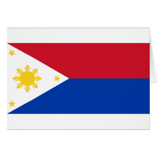 War   the Philippines, Philippines Greeting Card