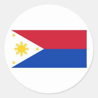 War   the Philippines, Philippines Round Sticker