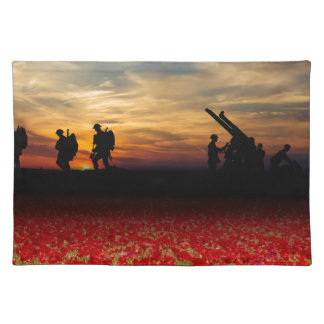 War Zone Placemat