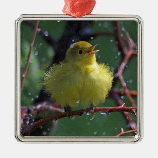 Warbler Christmas Ornament