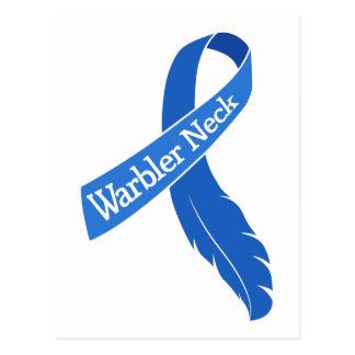 Warbler Neck Ribbon Postcard
