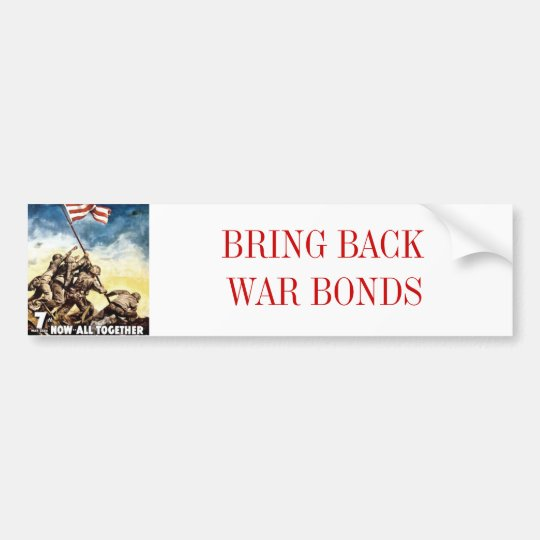 WarBonds Bumper Sticker