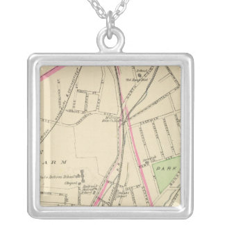 Ward 15, New Haven Silver Plated Necklace