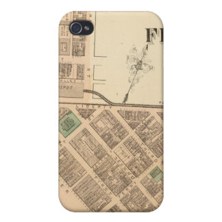 Ward 1 of Pittsburgh, Pennsyvania iPhone 4 Cover