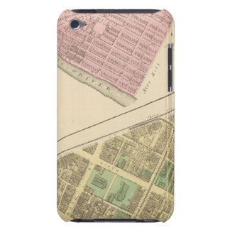 Ward 3 of Pittsburgh, Pennsyvania 1784 map Barely There iPod Cases