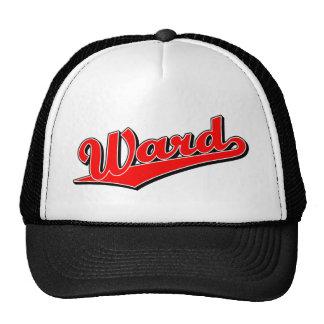 Ward in Red Cap