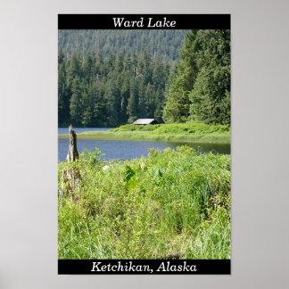Ward Lake in Ketchikan, Alaska Poster