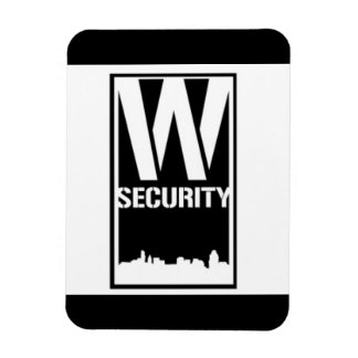 Ward Security Rectangle Magnet