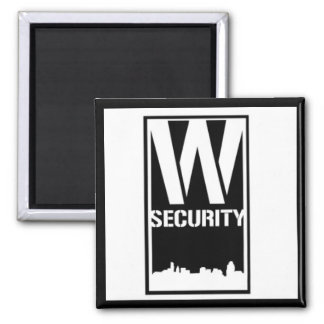 Ward Security Square Magnet