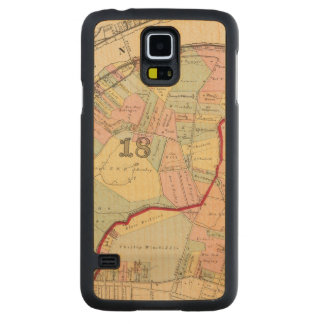 Wards 1819 of Pittsburgh, Pennsyvania Carved Maple Galaxy S5 Case