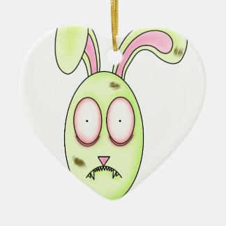 Warerabbit- Zombie Rabbit Christmas Ornament