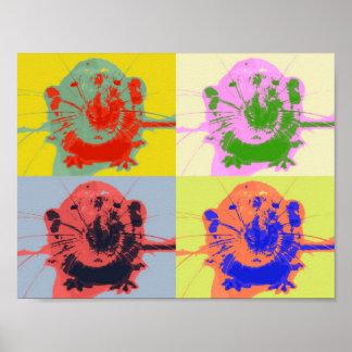 Warhol Rat Poster