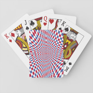 Waring square stylish pattern playing cards
