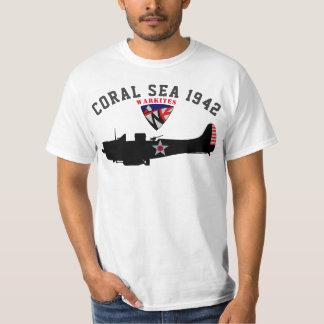 """Warkites """"Coral Sea 1942"""" Dauntless T-Shirt"""