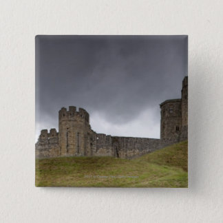 Warkworth Castle 15 Cm Square Badge
