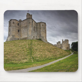 Warkworth Castle in Northumberland, England Mouse Pad