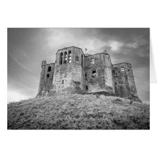 Warkworth Castle, Northumberland, Greeting Card