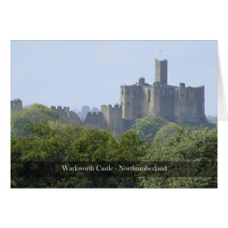 Warkworth Castle Northumberland Note Card