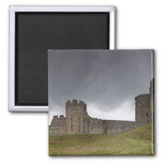 Warkworth Castle Square Magnet