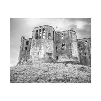 Warkworth Castle wrapped canvas