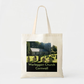 Warleggan Church Cornwall England Tote Bag