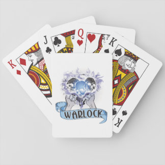 WARLOCK Tattoo Poker Cards
