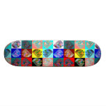 Warlong-Haul CabOver The LookingGlass Rainbow Custom Skate Board